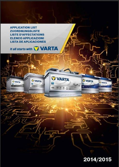 Varta automotive 2015